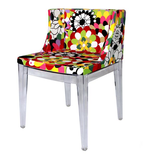 Mademoiselle � La Mode Missoni Chair Kartell: KARTELL MADEMOISELLE -MOOKA MODERN FURNITURE
