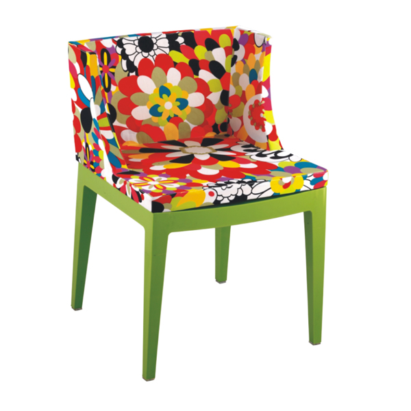 Philippe Starck S Missoni Fabric Mademoiselle Chair: KARTELL MADEMOISELLE -MOOKA MODERN FURNITURE