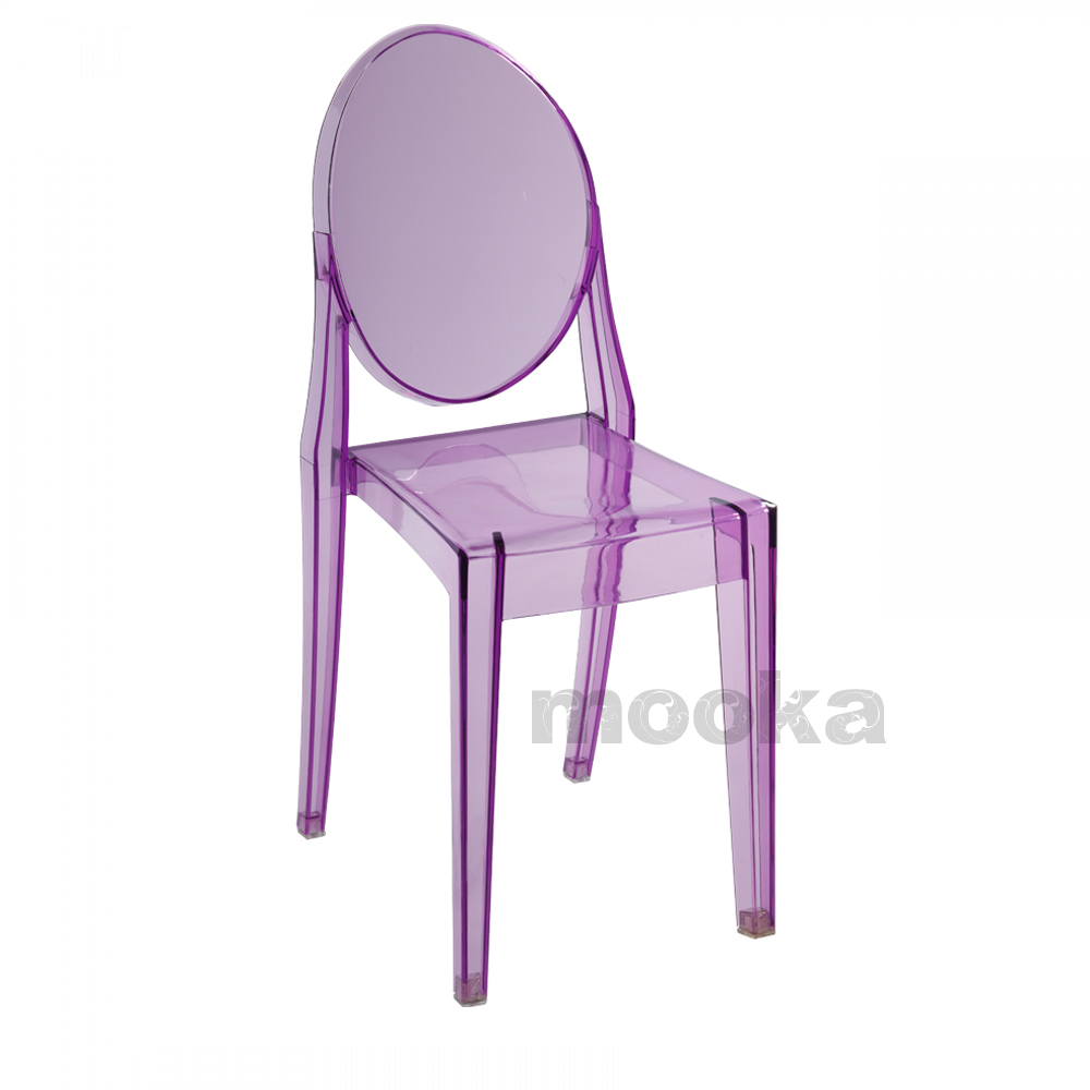 ... Victoria Ghost Side Chair ...