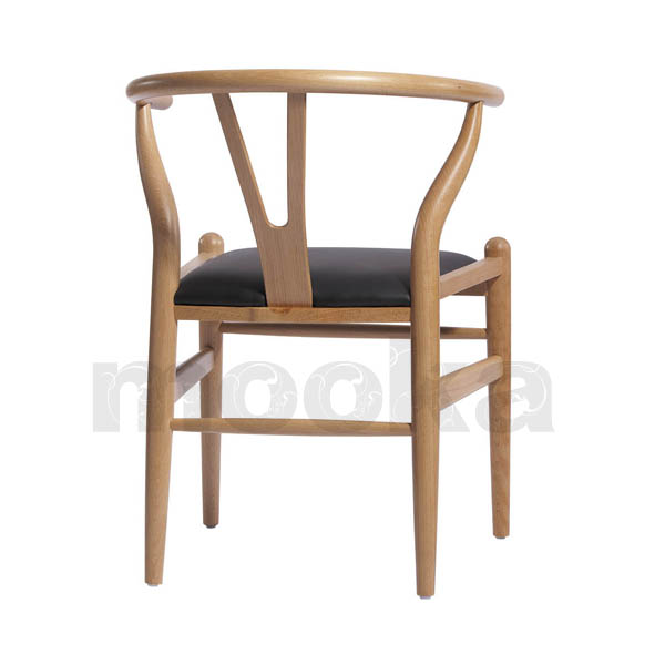 hans j wegner style wishbone chair mooka modern furniture. Black Bedroom Furniture Sets. Home Design Ideas