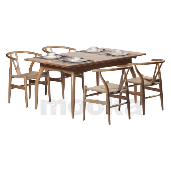... Hans J Wegner Style Wishbone Chair
