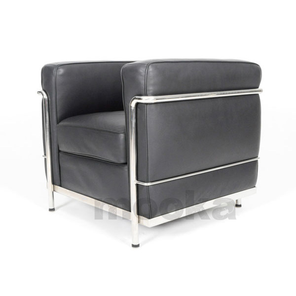 Le corbusier lc2 sofa armchair mooka modern furniture Le corbusier lc2 sofa