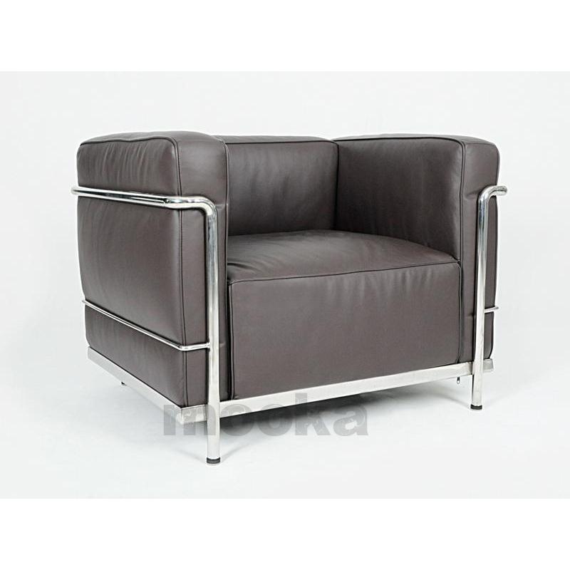 le corbusier lc3 sofa armchair mooka modern furniture. Black Bedroom Furniture Sets. Home Design Ideas