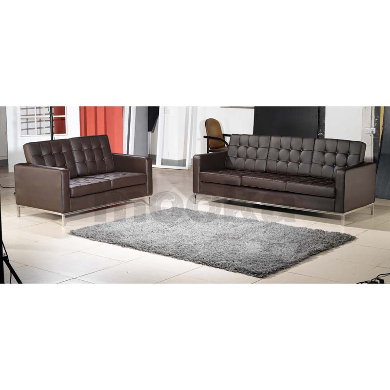 florence knoll sofa 3 seater mooka modern furniture. Black Bedroom Furniture Sets. Home Design Ideas