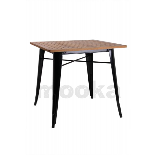 Tolix table mooka modern furniture for Table style tolix