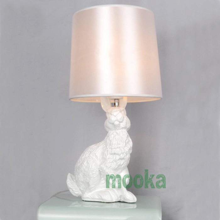New rabbit table lamp mooka modern furniture new rabbit table lamp aloadofball Image collections