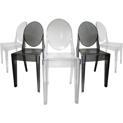 Loading Zoom, Please Wait Victoria Ghost Side Chair