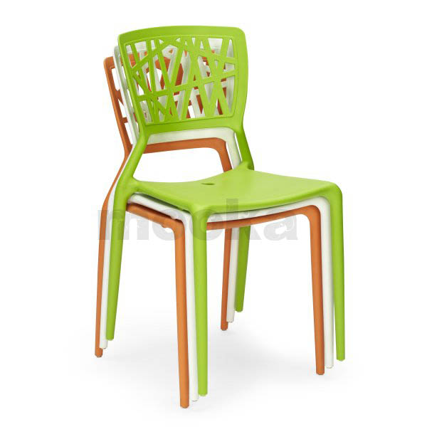 Viento chair mooka modern furniture for Chaise fibre de verre