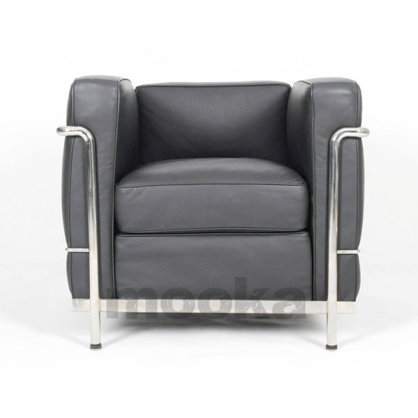Le corbusier lc2 sofa armchair mooka modern furniture for Le corbusier lc2 nachbau