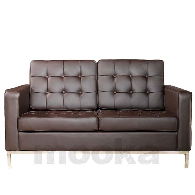florence knoll sofa 2 seater mooka modern furniture. Black Bedroom Furniture Sets. Home Design Ideas