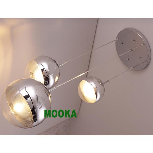 tom dixon mirror 3pcs ball pendant lamp mooka modern furniture. Black Bedroom Furniture Sets. Home Design Ideas