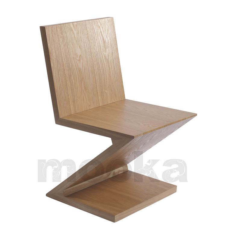 Zig Zag Chair Mooka Modern Furniture