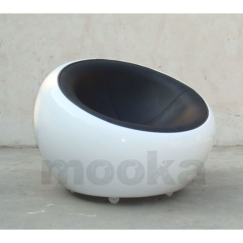 Bowl Chair Half Dome Chair Mooka Modern Furniture