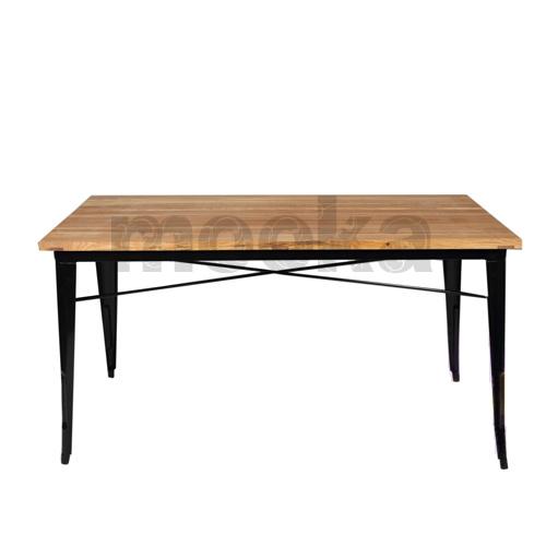 tolix dining table mooka modern furniture. Black Bedroom Furniture Sets. Home Design Ideas